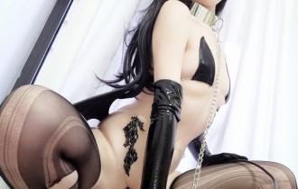 Coser@一小央泽 – VOL.21黑龙少女[45P150M]