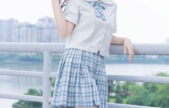 喵糖映画 – VOL.015 半度度度喵 白丝格子裙[43P381M]