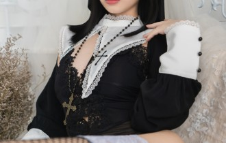 Coser@雯妹不讲道理 – NO.029祈祷修女[34P344M]